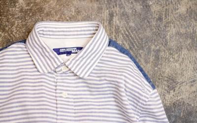 JUNYA WATANABE COMME des GARCONS MAN Striped O.X Shirts