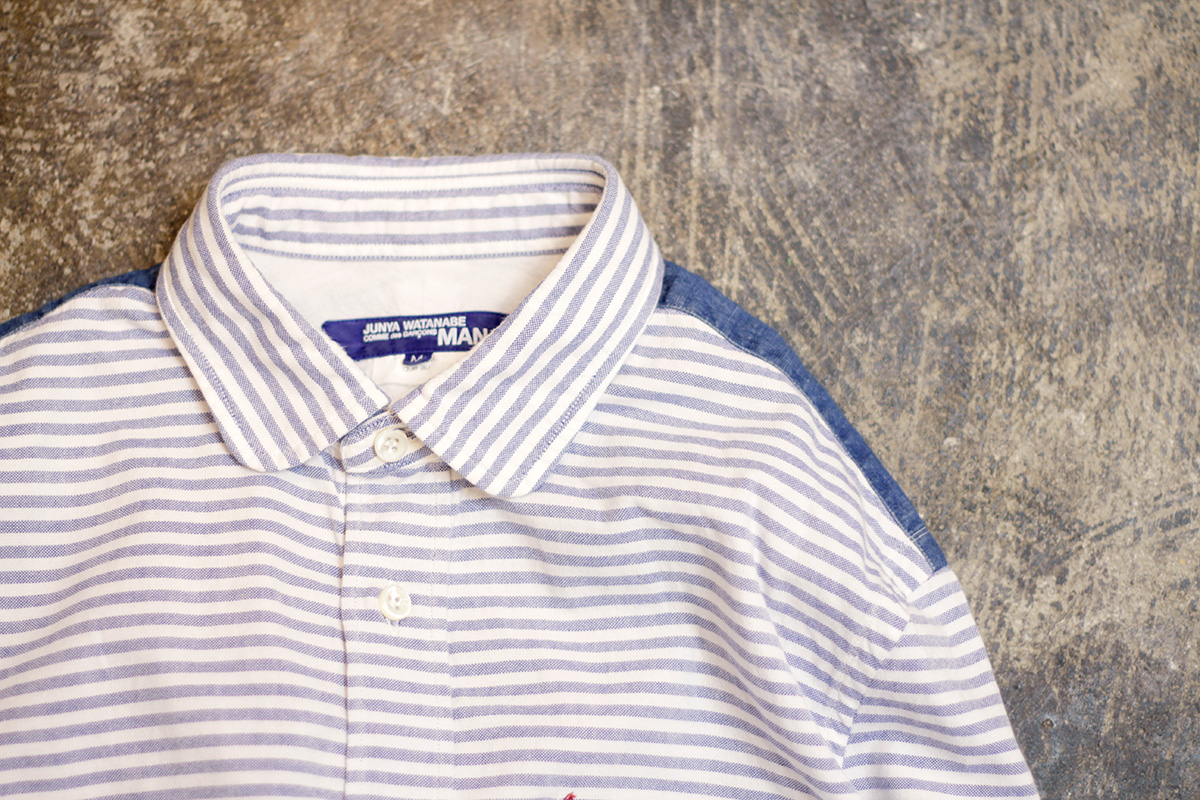 JUNYA WATANABE COMME des GARCONS MAN Striped O.X Shirts