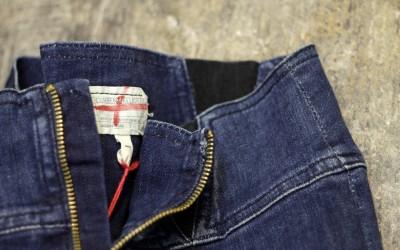 "CURRENT/ELLIOTT Zip Up Tight Skirt ""INDIGO"""