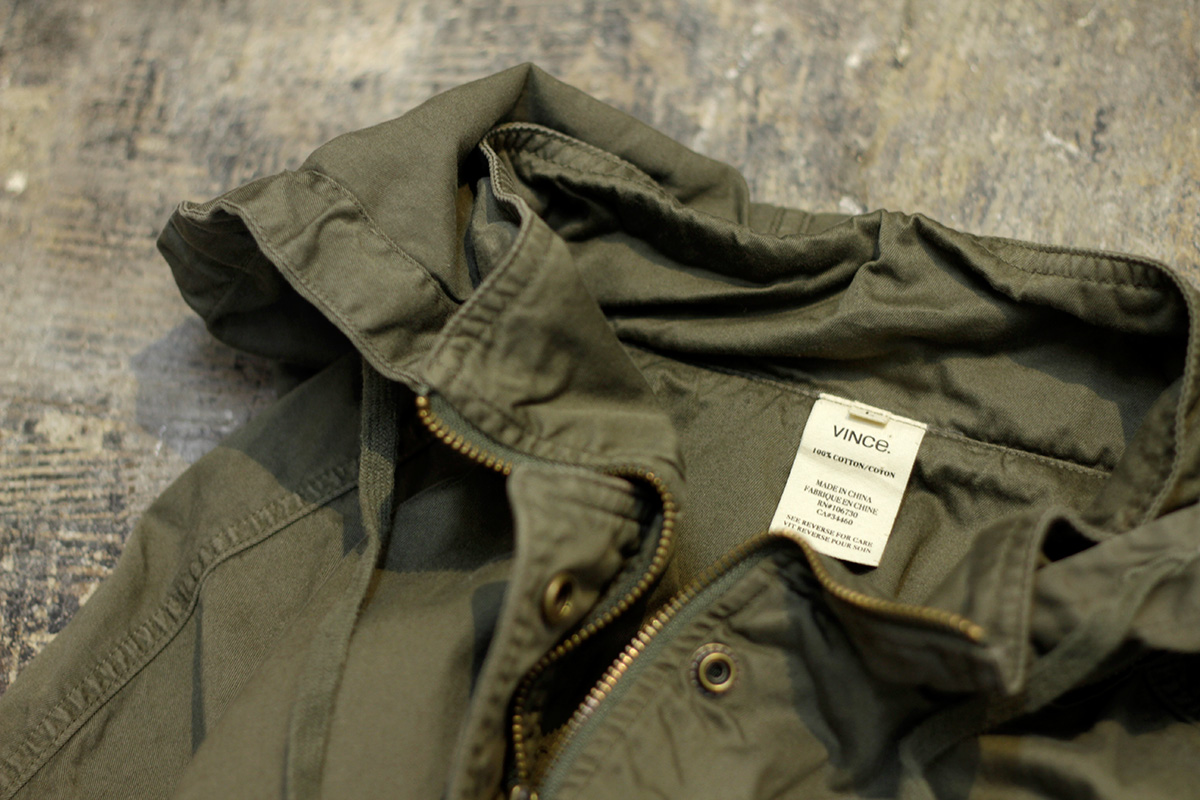 VINCE Military Anorak Parka