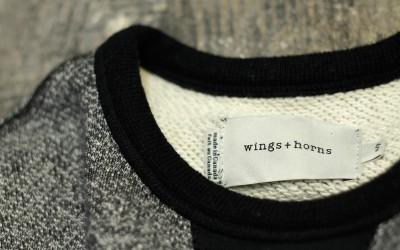 wings + horns Crew Neck Sweat