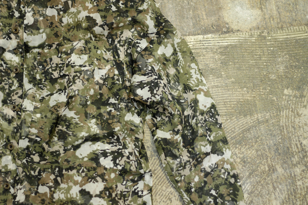NIF Camouflage Long Shirt