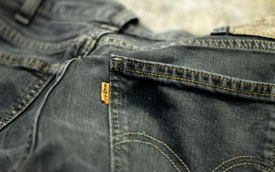 LEVI'S VINTAGE CLOTHING 606 Big E Black Denim