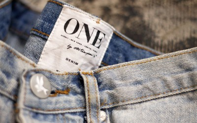 One Teaspoon Damage Denim Shorts
