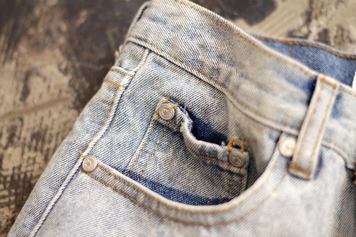 140604 one teaspoon damage denim shorts
