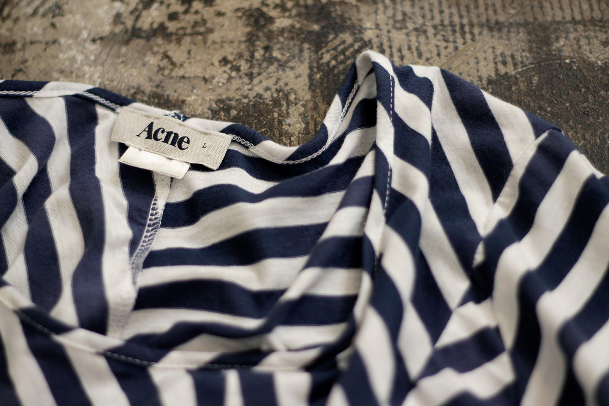 140606 ACNE Border T-Shirts