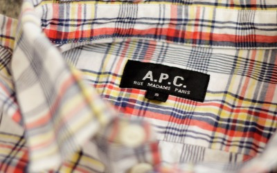 A.P.C. Check Shirts