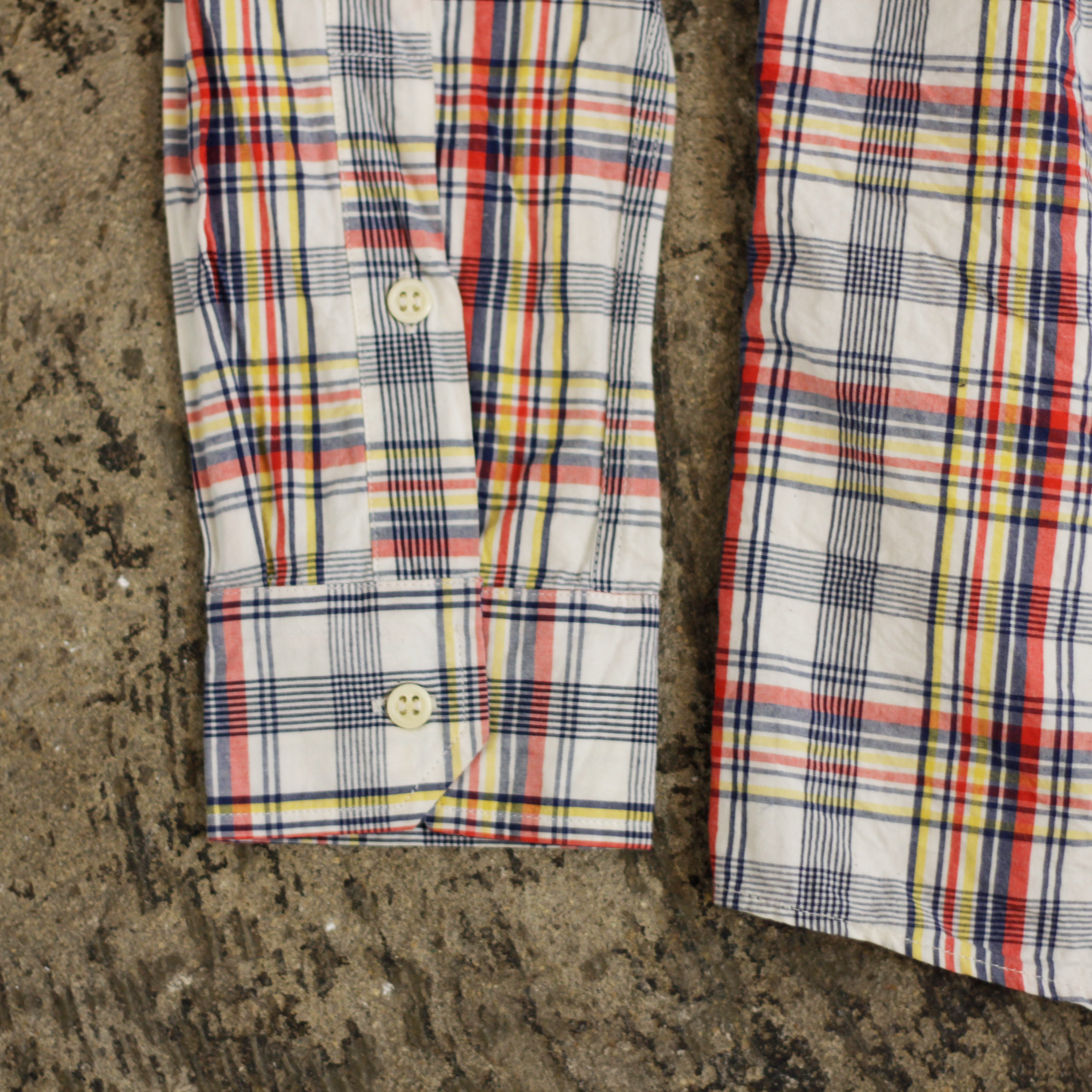 A.P.C. Madras Check Shirts