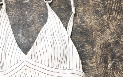 rag & bone Stripe One Piece