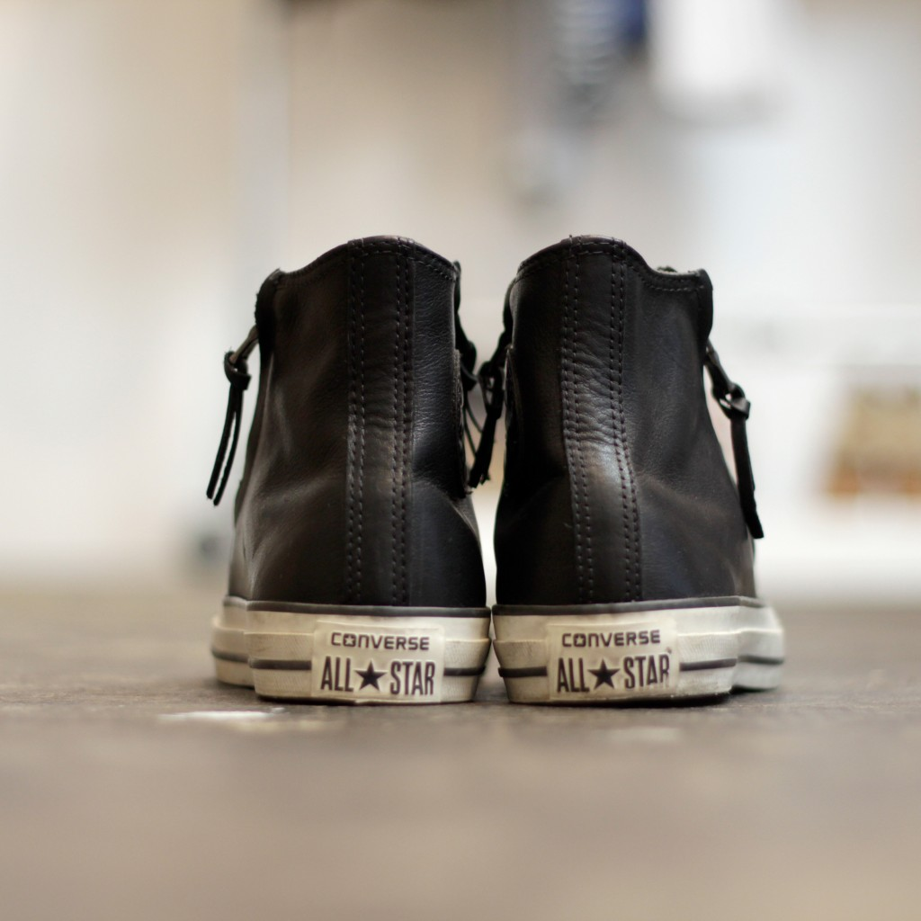 CONVERSE × John Varvatos  Leather Double Zip HI