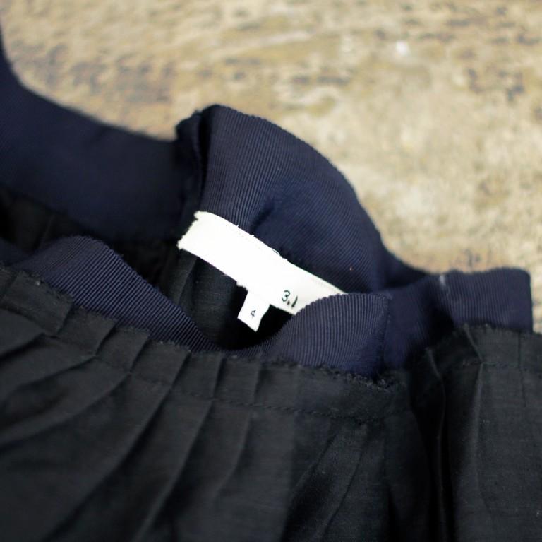 3.1 phillip lim Linen Flared Skirt