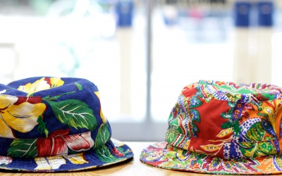 Ralph Lauren Floral & Paisely Bucket Hat