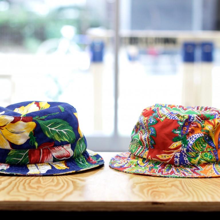 Ralph Lauren Floral & Paisely Bucket Hat