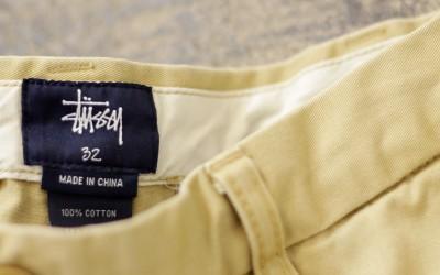 STUSSY Washed Chino Shorts