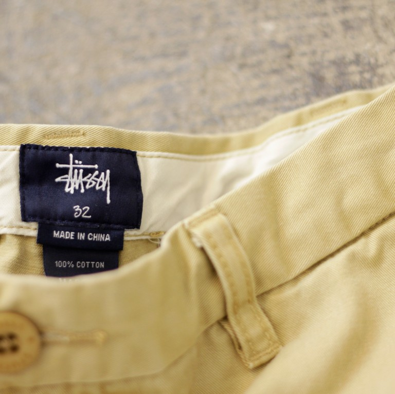 STUSSY Washed Chino Shorts