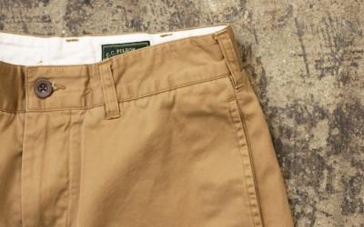 FILSON Cut Off Chino Shorts