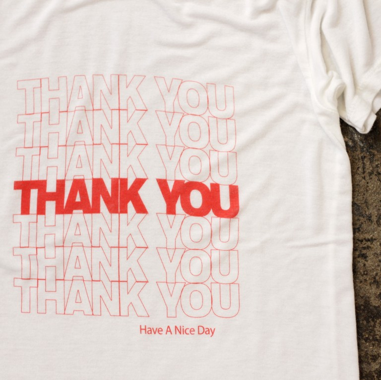 brandy melville market print t shirts thank you nice des