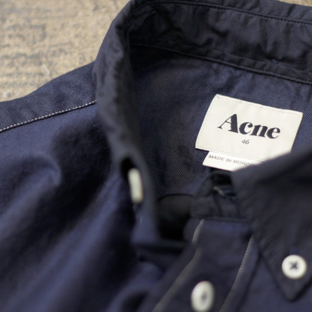 ACNE Isherwood Pox Shirt