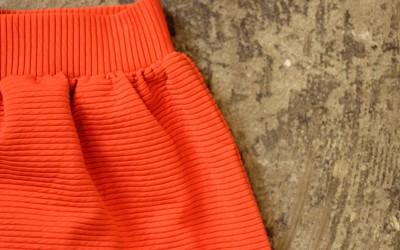 COOPERATIVE Border Red Skirt