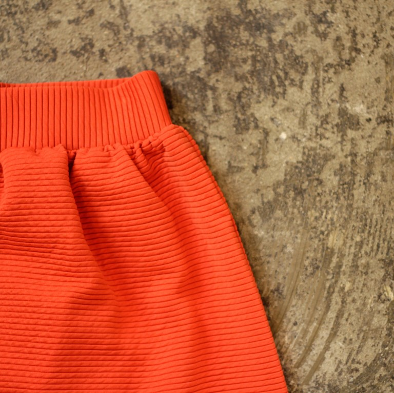 COOPERATIVE Border Red Skirt