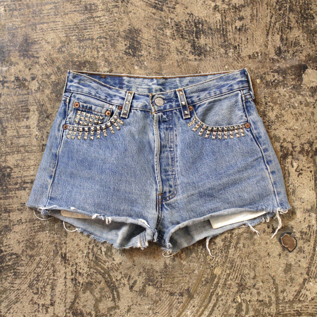 Levi's 501 Cut Off Remake Denim Shorts
