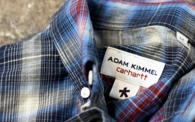 ADAM KIMMEL × carhartt B.D Check Shirt