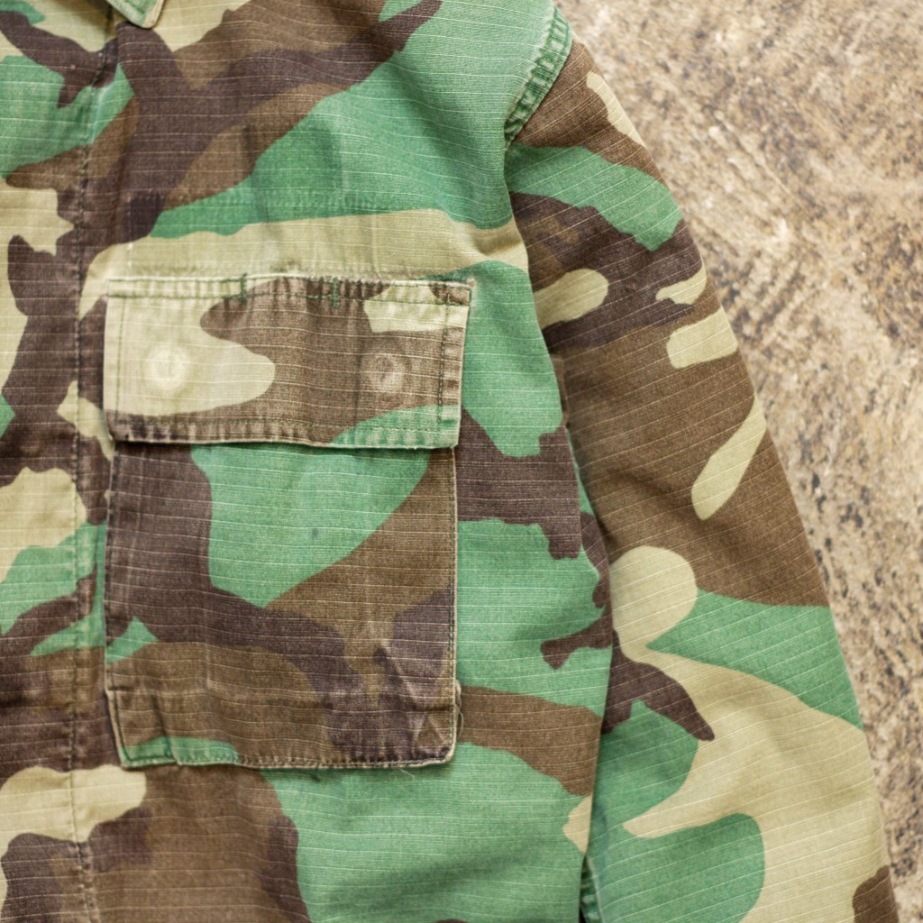 US MILITARY Vintage Jungle Fatigue Jacket