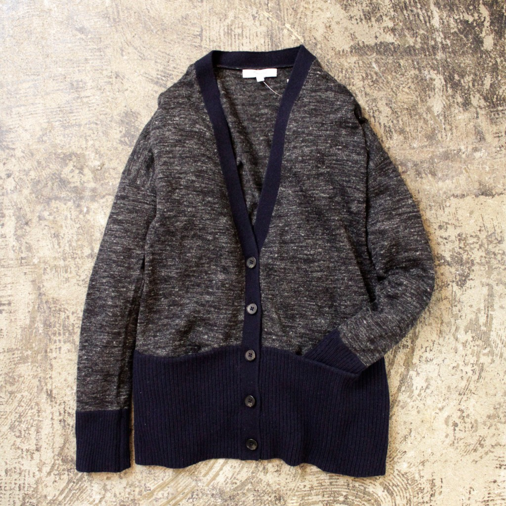 madewell Rib Pocket Cardigan