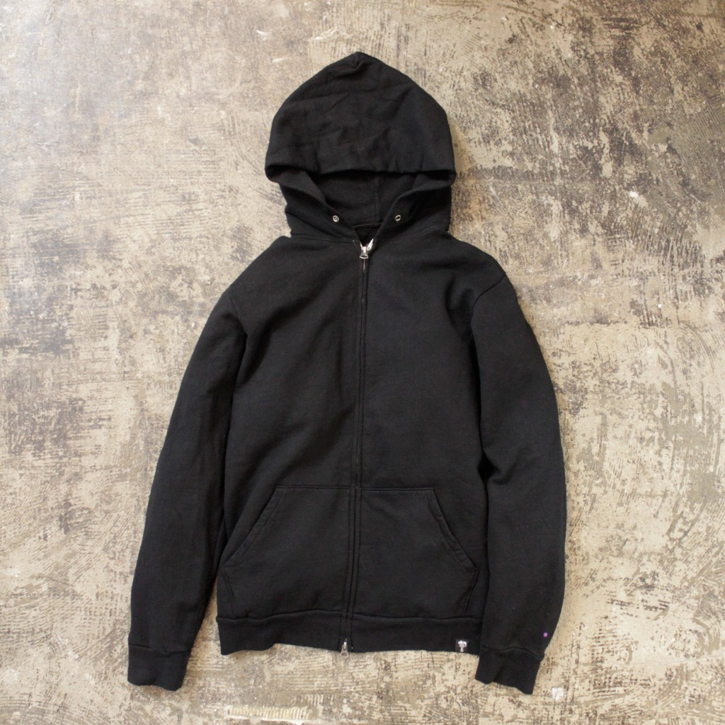 STUSSY DELUXE Zip Up Sweat Parka