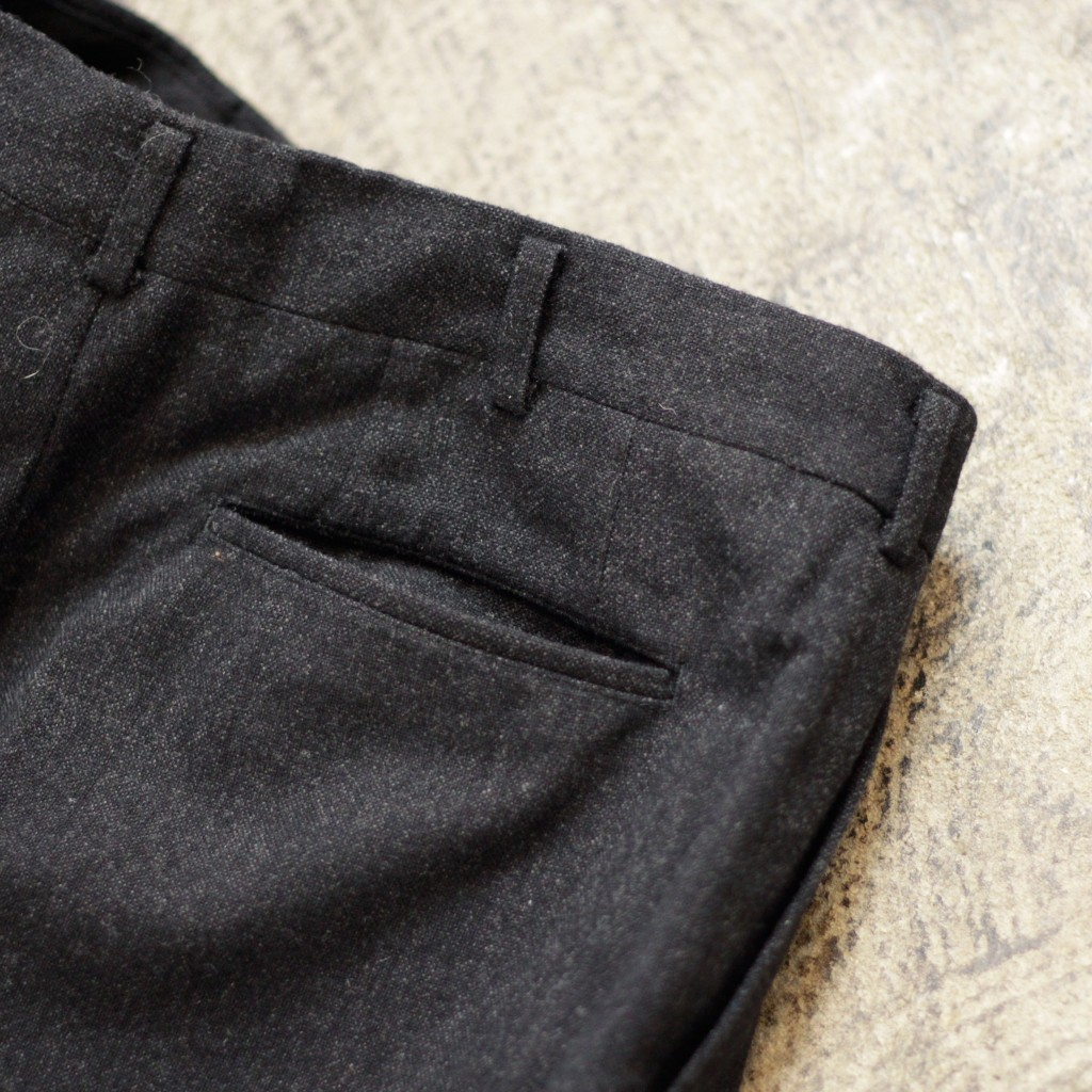 COMME des GARCONS HOMME Two Tuck Wool Pants