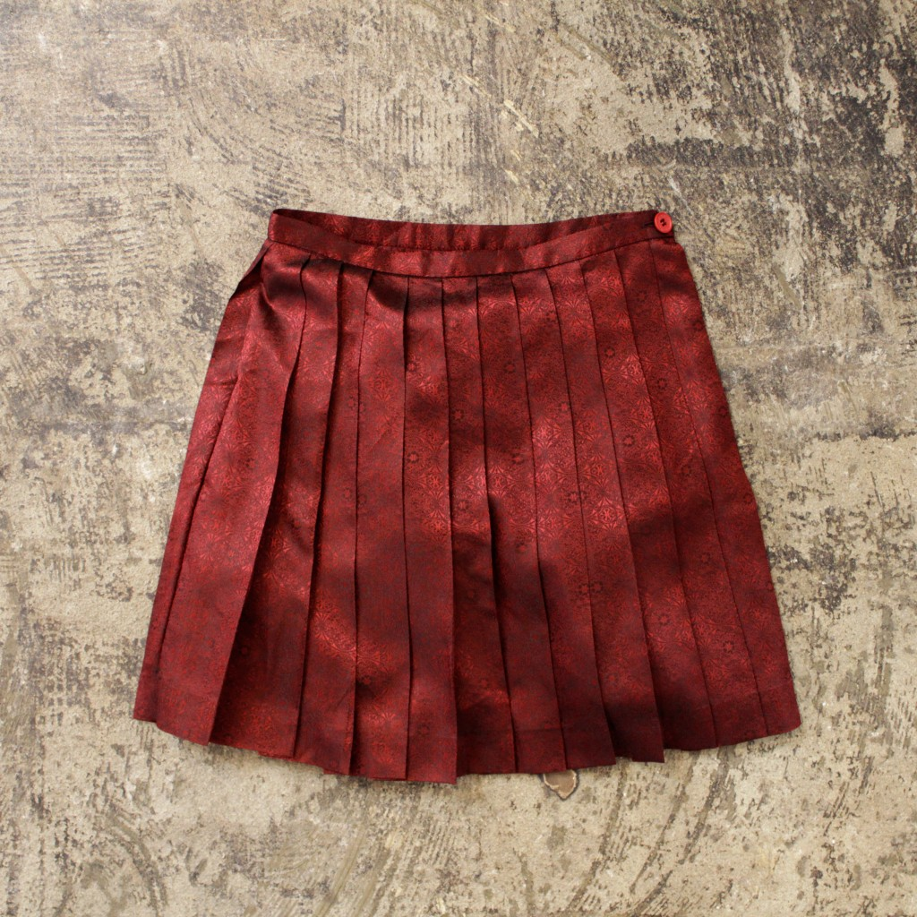 PHILOSOPHY di ALBERTA FERRETTI Metallic Pleated Skirt