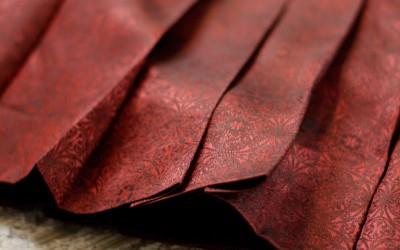 PHILOSOPHY di ALBERTA FERRETTI Metallic Pleated Skirt