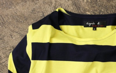 agnes b. Border L/S T-shirt