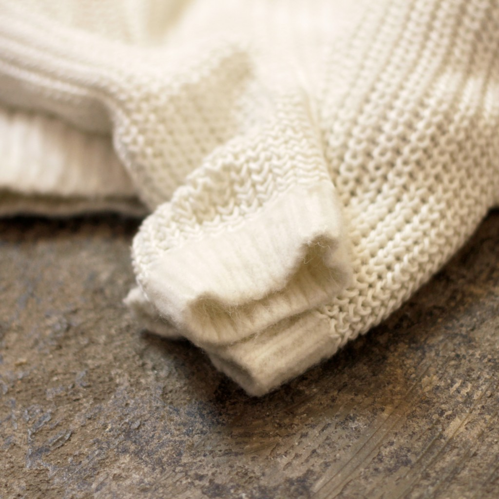 ACNE STUDIOS Crew Neck White Knit