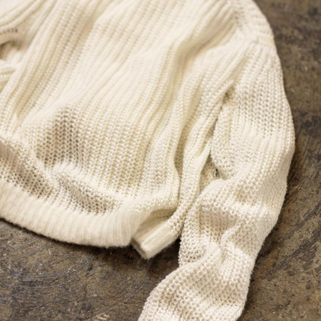 ACNE STUDIOS Crew Neck White Knit