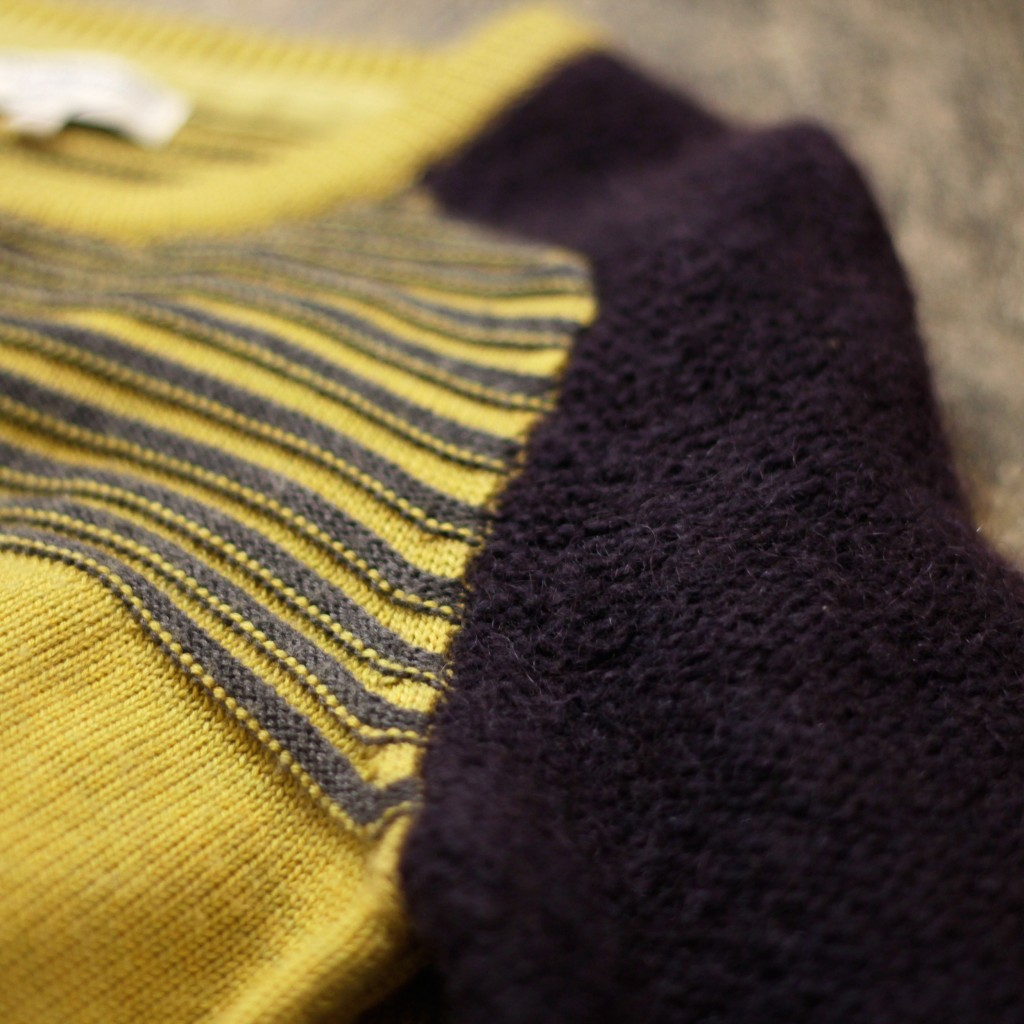 OPENING CEREMONY Border Mohair Short Knit