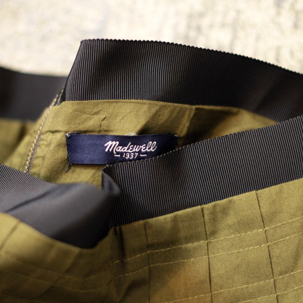 madewell Military Midi Skirt
