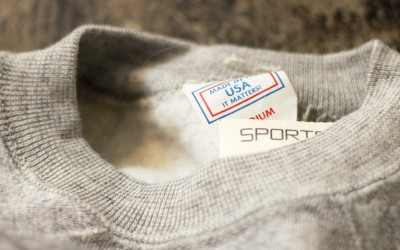 "Pannill 80′s Vintage Deadstock Hi-Neck Sweat ""Made in USA"""