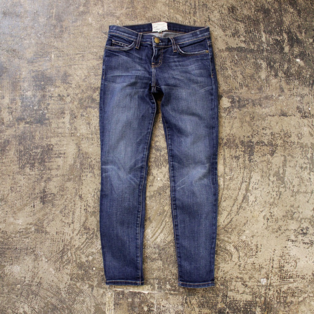 CURRENT ELLIOTT Ankle Skinny Denim