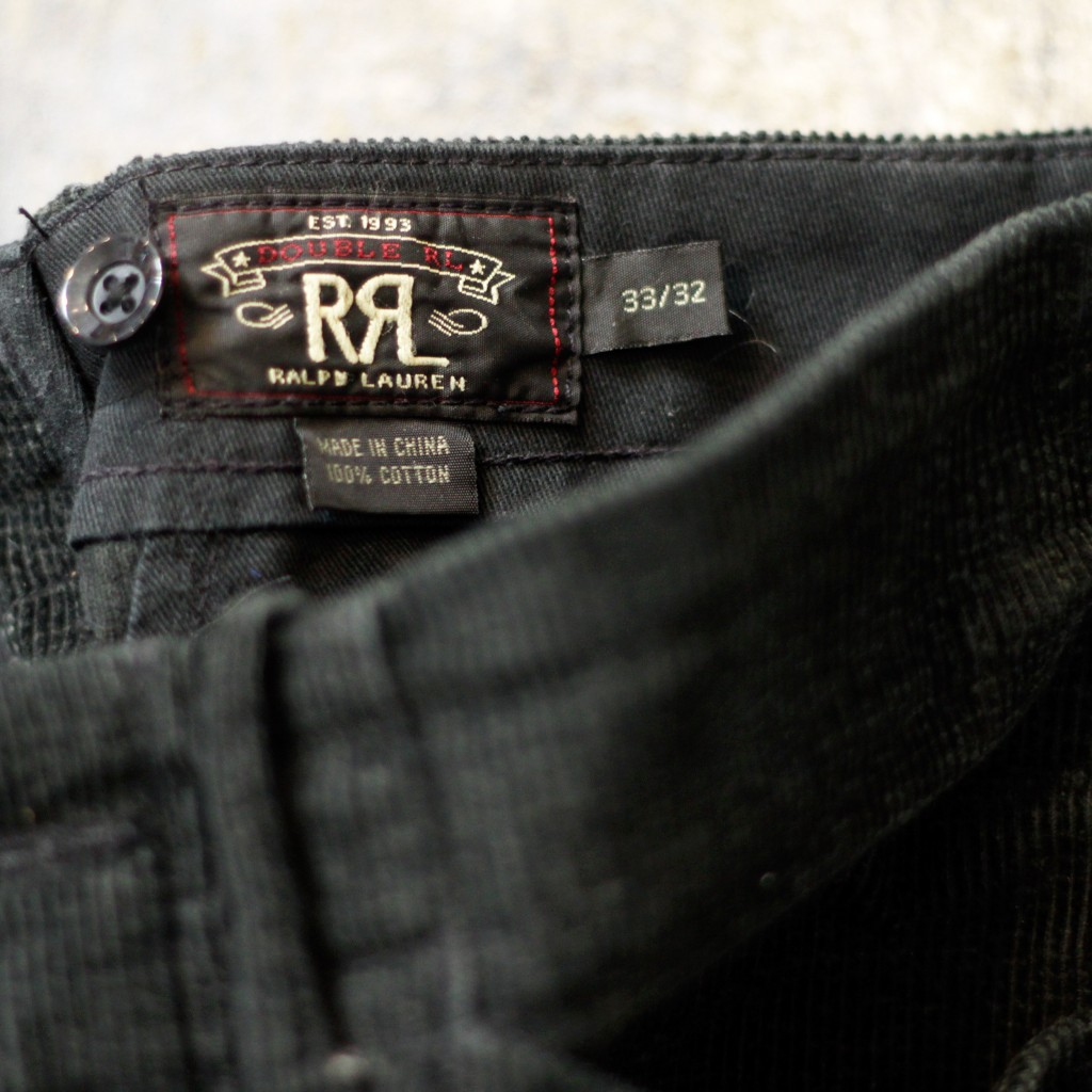 RRL Corduroy Pants