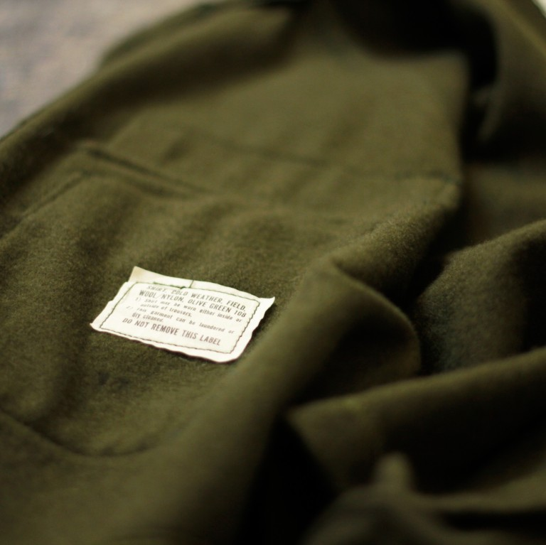 Vintage Remake 1977′ US Military Cold Weather Field Shirt