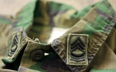 US ARMY Vintage Camouflage Jacket