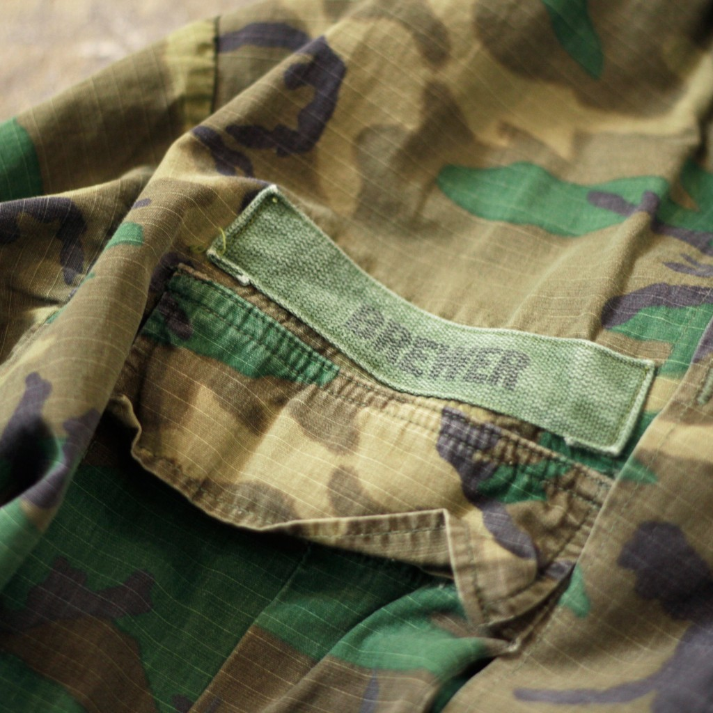 US MILITARY Vintage Jungle Fatigue Jacket