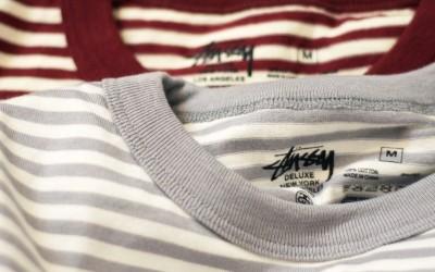 STUSSY DELUXE Border L/S Pocket T-Shirt