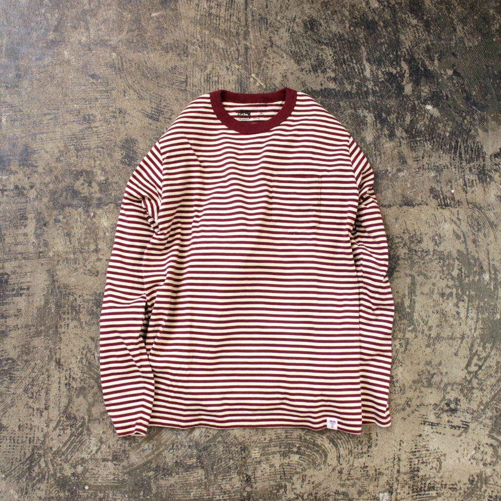 STUSSY DELUXE Border Tshirts