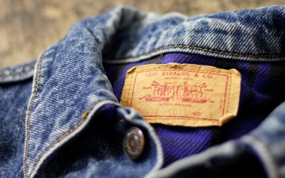 """Levi's 70417 Flannel Liner Jean Jacket """"Made In U.S.A"""""""