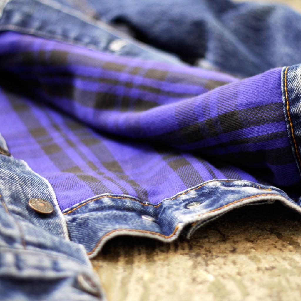 Levi's 70417 Flannel Liner Jean Jacket