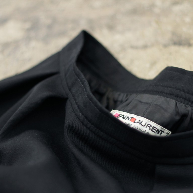Yves Saint Laurent -rive gauche- Vintage High Waist Skirt