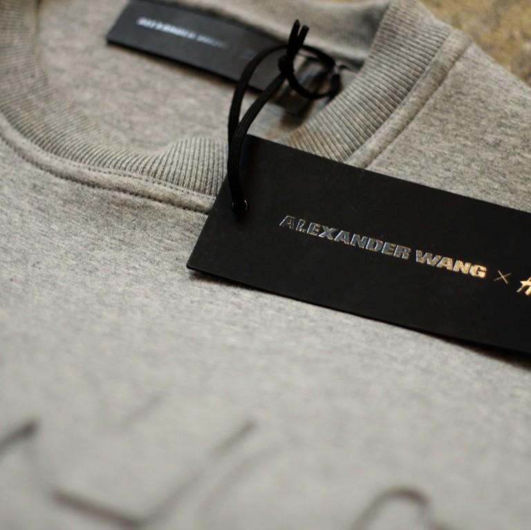 ALEXANDER WANG × H&M Scuba Logo Sweatshirt