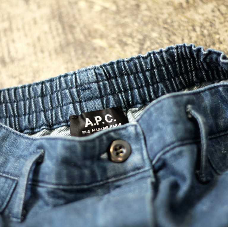 A.P.C. High Waist Denim Skirt
